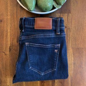 Madewell Jeans - Skinny Dark Wash 35x32